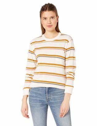 Billabong Women's Retro Babe Long Sleeve T-Shirt White XS/6