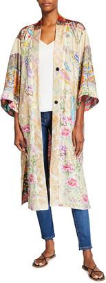 Johnny Was Jules Reversible Silk Kimono