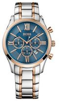 HUGO BOSS 1513321 Chronograph Stainless Steel Rose-Gold Tone Watch One Size Assorted-Pre-Pack