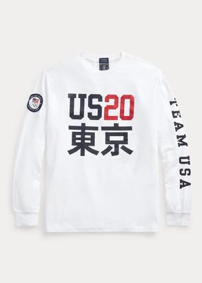 Ralph Lauren Team USA One-Year-Out Long-Sleeve Tee