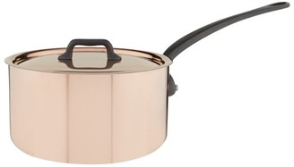 Mauviel Copper Saucepan And Lid (20Cm)