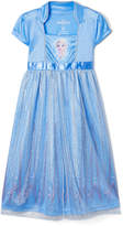 AME Girls' Nightgowns Blue - Frozen Blue Elsa Nightgown - Toddler