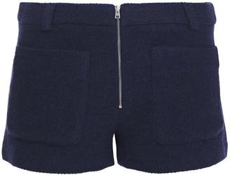 BA&SH Wind Cotton-blend Boucle-tweed Shorts