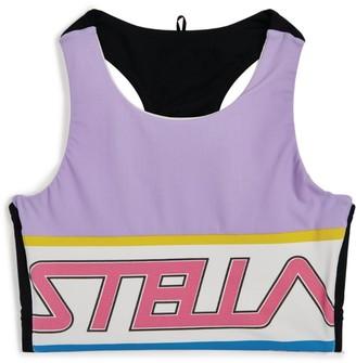 Stella McCartney Sporty Logo Crop Top