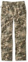 L.L. Bean L.L.Bean Allagash Cargo Pants, Natural Fit Camouflage
