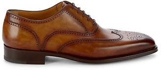 Magnanni Ledger Cuero Wingtip Leather Oxfords