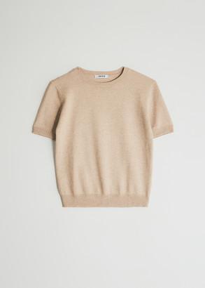 NEED Women's Katy Top in Tan, Size XS/Small | Wool