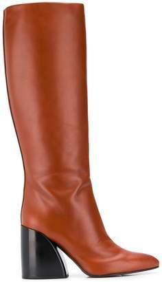 Chloé Wave chunky-heel boots
