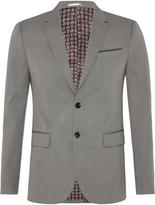 Oxford Larkin Textured Cttn Blazer Stone X