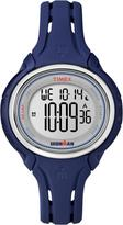 Timex Ironman Sleek 50-Lap Midsize Blue Case Blue Resin Strap