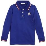 Moncler Boys' Color Tipped Polo Shirt - Sizes 2-3