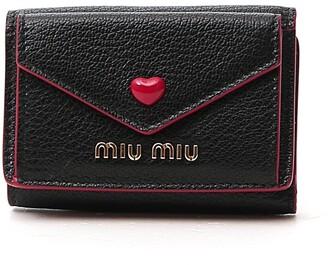 Miu Miu Madras Love Compact Wallet