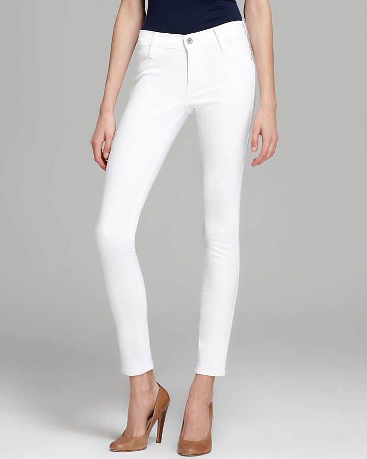 James Jeans Twiggy Frost in White