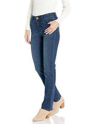 Vintage America Blues Women's Plus Size F'AB Body Sculpt Straight Leg Denim Jean