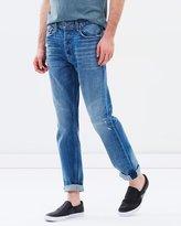 Current/Elliott Selvedge Taper Fit Jeans