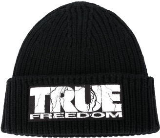 McQ True Freedom beanie hat