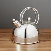 Crate & Barrel ZWILLING ® Demeyere Resto Stainless Steel Tea Kettle