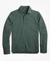 Brooks Brothers Long-Sleeve Gentleman Polo Shirt