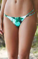 La Hearts Strappy Side Skimpy Bikini Bottom