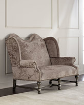 Old Hickory Tannery Bartel Crusted Settee