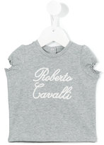 Roberto Cavalli embroidered T-shirt - kids - Cotton/Spandex/Elastane - 3 mth