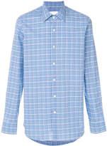 Prada pointed collar plaid shirt