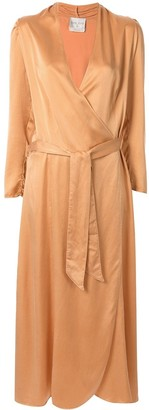 Forte Forte Cloquet silk dress