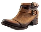 Freebird Simba Women Round Toe Leather Brown Bootie.