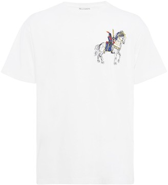 J.W.Anderson Camelot embroidery T-shirt