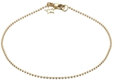 Minor Obsessions Gold Ball Chain Bracelet with Star Tag