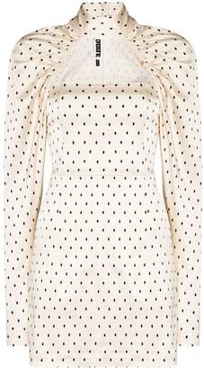 Rotate by Birger Christensen Kaya polka dot dress