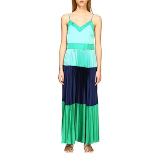 Twin-Set Long And Pleated Dress
