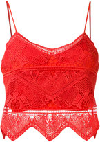 Jonathan Simkhai panel applique bustier top