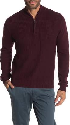 Ben Sherman Quarter Zip Long Sleeve Sweater