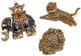 "Heidi Daus Collector's Edition"" 3-piece Crystal Pin Set - Safari Chic"