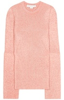 Stella McCartney Wool-blend knitted sweater