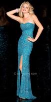 Scala Beaded Semi Heart Dress
