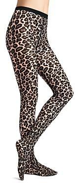 Wolford Leopard Print Tights