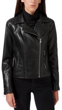 Sam Edelman Faux-Leather Moto Jacket