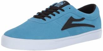 Lakai Footwear Sheffield Simon Light Blue/Black SUEDESize 5 Tennis Shoe Suede 5 Standard US Width US