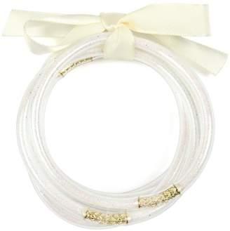Riah Fashion Jelly-Ribbon Bangles Set