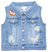 Margherita Infant Girl's Denim Vest