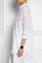 Christopher Kane Broderie anglaise cotton shirt