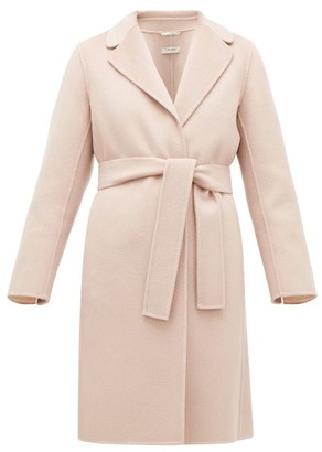 Max Mara S Oscuri Coat - Womens - Light Pink