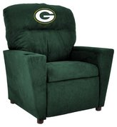 Imperial Star NFL Kids Recliner with Cup Holder NFL Team: Green Bay Packers,