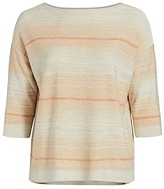 Thumbnail for your product : Lafayette 148 New York, Plus Size Ombre Bateau Top