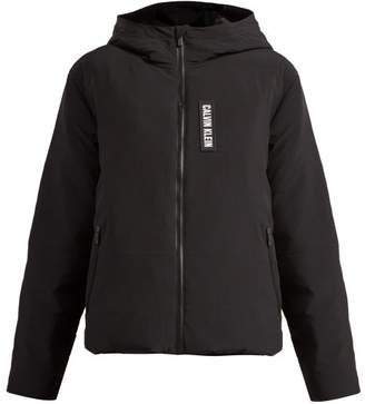 Calvin Klein Padded Down Filled Zip Through Jacket - Womens - Black