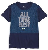 Nike Boy's All Time Best Graphic T-Shirt