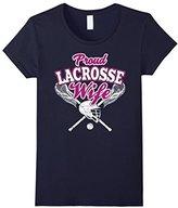 LaCrosse Women's Wife Shirt: Proud Wife Of Player T-Shirt