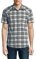 Lucky Brand Santa Fe Plaid Button-Down Shirt